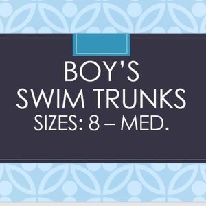 Youth Boy Swimwear